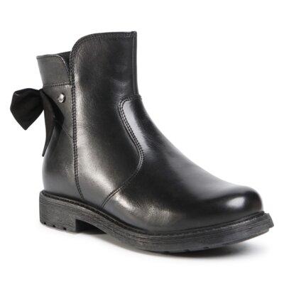 Levně Kotníkové boty Lasocki Young CI12-3060-02 Přírodní kůže (useň) - Lícová