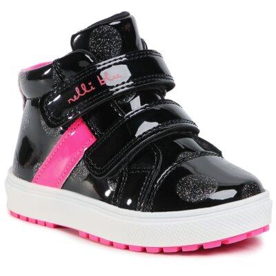 Pantofi cu toc mediu Nelli Blu AVO-191-259 Piele ecologică/-Piele ecologică