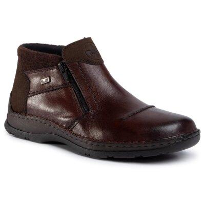 Levně Kotníkové boty Rieker 05389-25 Přírodní kůže (useň) - Semiš