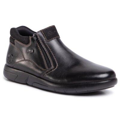 Levně Kotníkové boty Rieker B2792-00 Přírodní kůže (useň) - Semiš