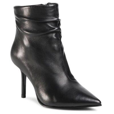 Levně Kotníkové boty Gino Rossi Premium V356H2-3461 Přírodní kůže (useň) - Lícová