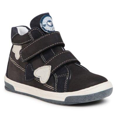 Pantofi cu toc mediu Lasocki Kids CI12-BELKA-17A Piele naturală - Nubuc imagine ccc.eu