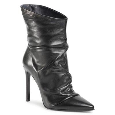 Levně Kotníkové boty Gino Rossi Premium DBK456-MIYA Přírodní kůže (useň) - Lícová