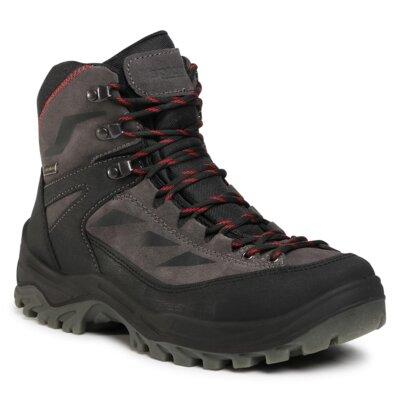 Levně Šněrovací obuv Sprandi Outdoor Performance AD94028S Přírodní kůže (useň) - Semiš