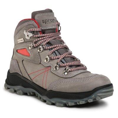 Levně Šněrovací obuv Sprandi Outdoor Performance AT71408S Přírodní kůže (useň) - Nubuk