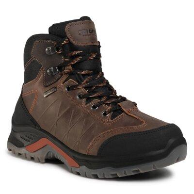 Levně Šněrovací obuv Sprandi Outdoor Performance SO92524S Přírodní kůže (useň) - Nubuk