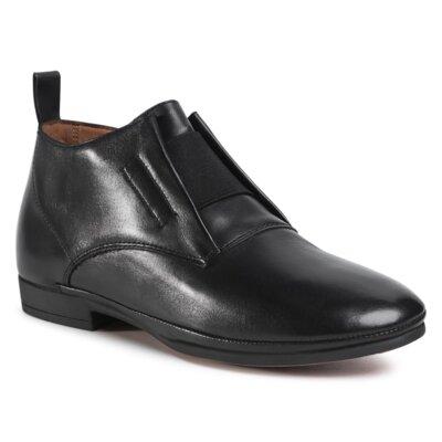 Levně Kotníkové boty Sergio Bardi WI16-ORIA-04 Přírodní kůže (useň) - Lícová