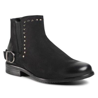 Levně Kotníkové boty Sergio Bardi WI16-ENNA-02E Přírodní kůže (useň) - Nubuk