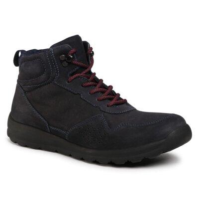 Levně Šněrovací obuv Sergio Bardi MI07-A976-A805-06EO Přírodní kůže (useň) - Nubuk
