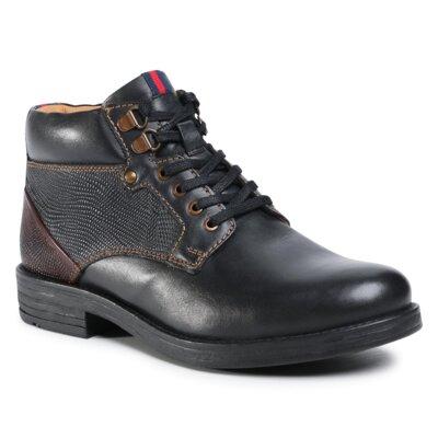Levně Šněrovací obuv Sergio Bardi MI07-C743-658-02 Přírodní kůže (useň) - Lícová