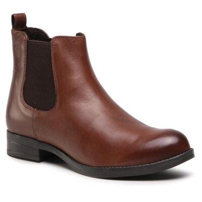 Levně Kotníkové boty Sergio Bardi Brianza FW127355318CC Přírodní kůže (useň) - Lícová