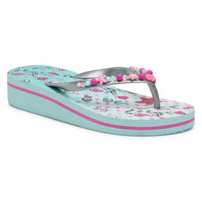 Levně Bazénové pantofle Nelli Blu 850302B Materiál/-Velice kvalitní materiál