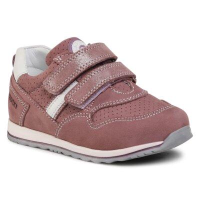 Pantofi cu toc mediu Lasocki Kids CI12-2908-03 Piele naturală - Nubuc