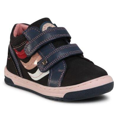 Pantofi cu toc mediu Lasocki Kids CI12-BELKA-05(III)DZ Piele naturală - Nubuc imagine ccc.eu