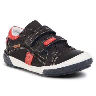 Pantofi cu toc mediu Lasocki Kids CI12-PAMI-51 Piele naturală - Nubuc imagine ccc.eu