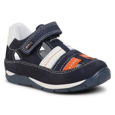 Pantofi cu toc mediu Lasocki Kids CI12-MARCUS-01(II)CH Piele naturală - Nubuc imagine ccc.eu
