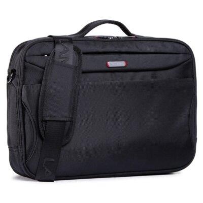Levně Pánské tašky Lanetti BMM-S-043-10-05 Textilní materiál