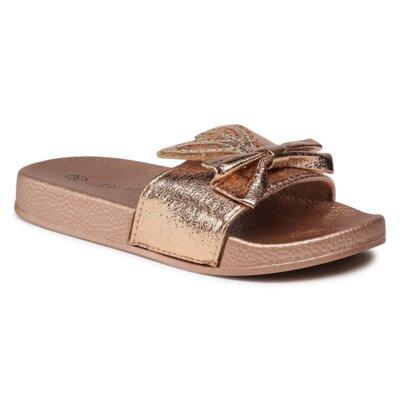 Levně Bazénové pantofle Nelli Blu JH204-292 Ekologická kůže /-Ekologická kůže