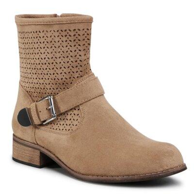 Levně Kotníkové boty Clara Barson WS1216-53 Látka/-Látka