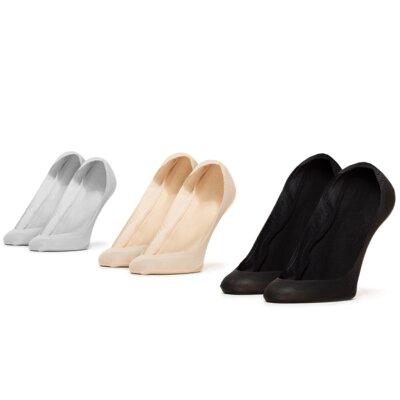 Levně Ponožky ACCCESSORIES 1WB-013-SS21 r. 39-42 Spandex,Nylon,Bavlna