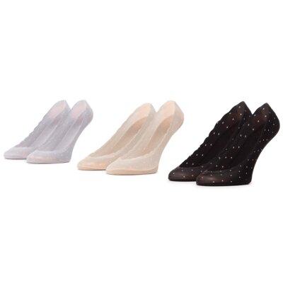 Levně Ponožky ACCCESSORIES 1WB-011-SS21 r. 35-38 Spandex,Nylon,Bavlna