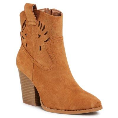 Levně Kotníkové boty DeeZee WS170608-01 Látka/-Látka