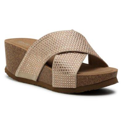 Levně Pantofle Clara Barson WSB56-01 Materiál/-Velice kvalitní materiál
