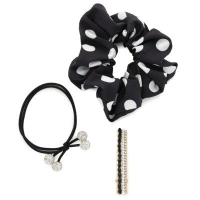 Levně Doplňky do vlasů ACCCESSORIES 1WE-039-SS21 Materiál - kov,Materiał tekstylny