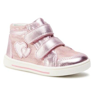 Pantofi cu toc mediu Lasocki Kids ARC-OLA-20 Piele naturală - De antilopă imagine ccc.eu