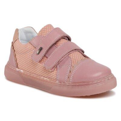 Pantofi cu toc mediu Lasocki Kids CI12-3095-01 Piele naturală - De antilopă