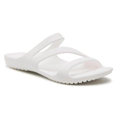Levně Bazénové pantofle Crocs 206756-100