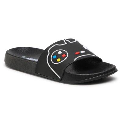 Levně Bazénové pantofle Action Boy 69421 Materiál/-Velice kvalitní materiál