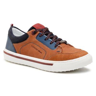 Pantofi cu toc mediu Lasocki Young CI12-2677-06 Piele naturală - De antilopă