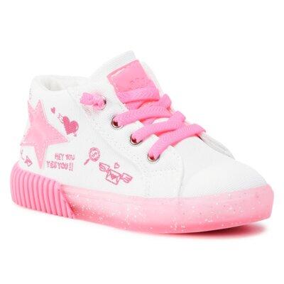 Pantofi cu toc mediu Nelli Blu AVO-297-019 Material/-Material