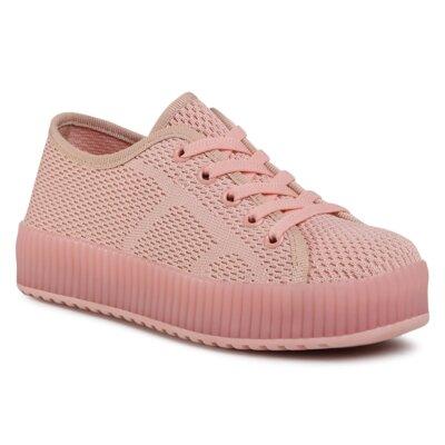 Pantofi cu toc mediu Nelli Blu AVO-401-002 Material/-Material