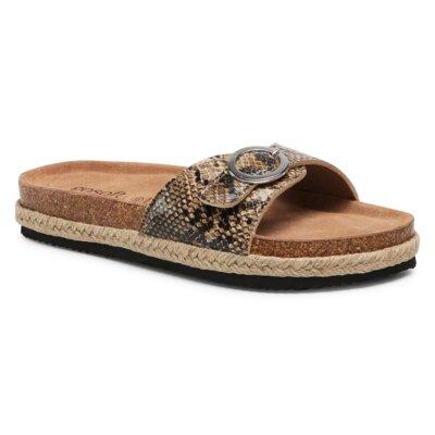 Levně Pantofle GO SOFT AGK20705 Imitace kůže/-Ekologická kůže