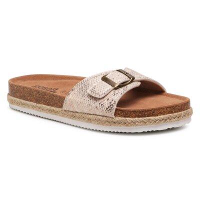 Levně Pantofle GO SOFT AGK20703 Imitace kůže/-Ekologická kůže