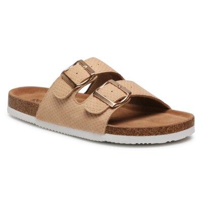 Levně Pantofle GO SOFT AGK20707 Imitace kůže/-Ekologická kůže