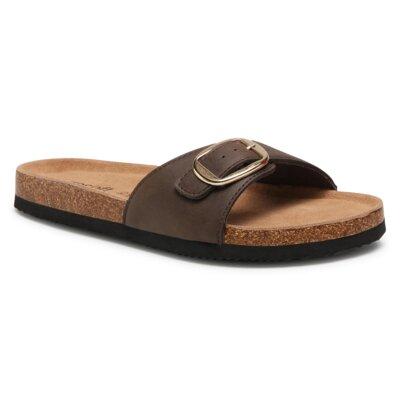 Levně Pantofle GO SOFT AGK20702 Imitace kůže/-Ekologická kůže