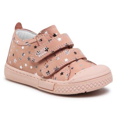 Pantofi cu toc mediu Lasocki Kids ARC-2995-02(III)DZ Piele naturală - Nubuc imagine ccc.eu