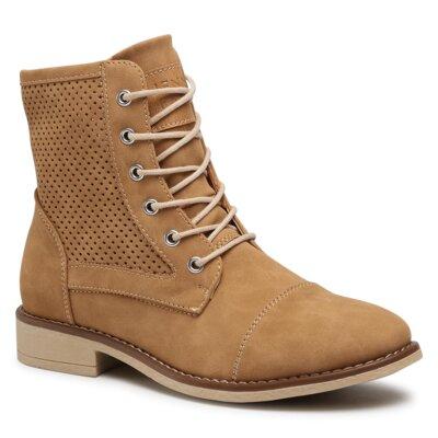 Obrázok Šněrovací obuv Jenny Fairy WS2796-11A Ekologická kůže /-Ekologická kůže CAMEL