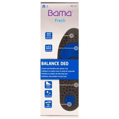 Levně Vložky a Podpatěnky BAMA Balance Deo 01474 r. 40 Velice kvalitní materiál