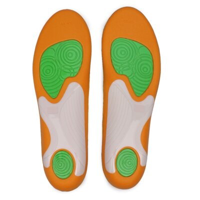 Levně Vložky a Podpatěnky BAMA Sneaker Gel Support Materiał tekstylny