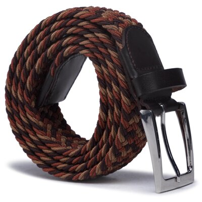 Levně Opasky Gino Rossi O3M2-009-SS21 Materiał tekstylny