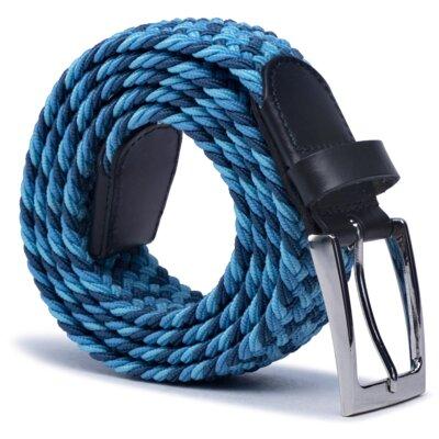 Levně Opasky Gino Rossi O3M2-010-SS21 Lícová,Materiał tekstylny