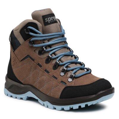 Levně Šněrovací obuv Sprandi Outdoor Performance 3770B.21S Přírodní kůže (useň) - Semiš