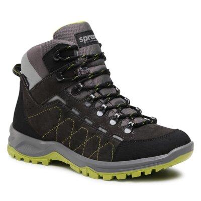 Levně Šněrovací obuv Sprandi Outdoor Performance 3770B.22S Přírodní kůže (useň) - Semiš