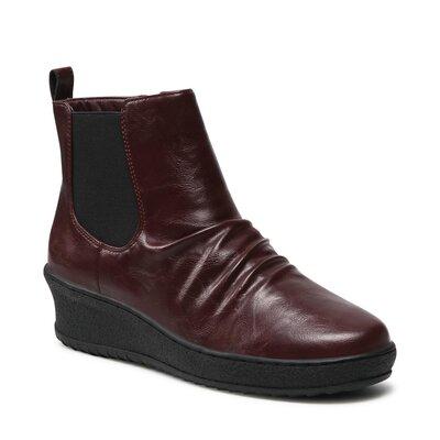 Levně Kotníkové boty Clara Barson WYL1877-4 Imitace kůže/-Ekologická kůže
