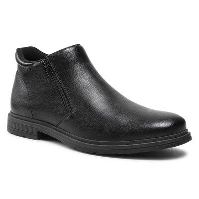 Levně Kotníkové boty Ottimo MYL8392-2 Imitace kůže/-Ekologická kůže