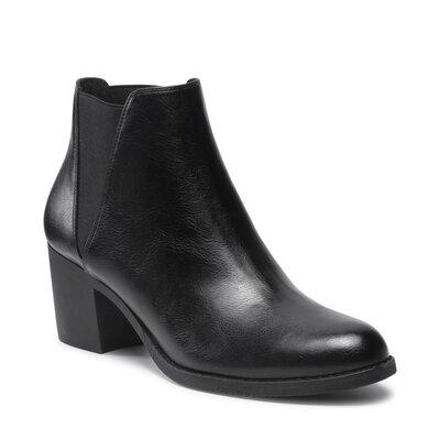 Levně Kotníkové boty Clara Barson WYL2693-1-B Imitace kůže/-Ekologická kůže